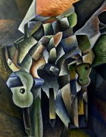 Cubist Guitar by Vlarg