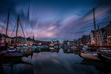 Honfleur by night by zardo