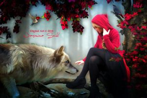 Red Riding Hood by JassysART