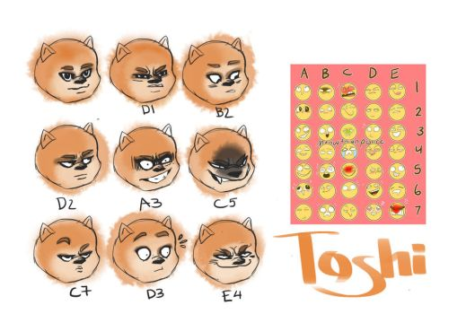 Toshi's emotions by Mumium