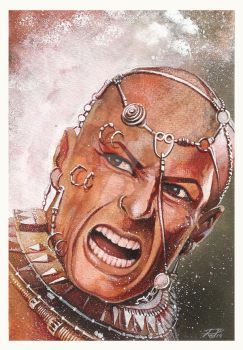 300 rise of an empire - Xerxes by RodGallery