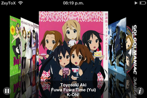 K-ON! Coverflow by ZeyToX