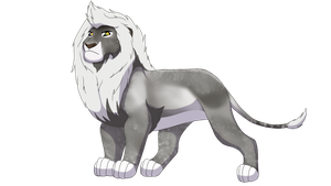 Lion for #15884 by lionobsession