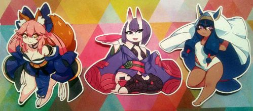 Fate/GO Stickers by Saane
