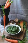 Carrot leaves pesto by SunnySpring