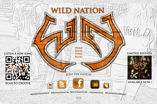 WILD NATION - STICKERS - TSC by PoC-Bnui