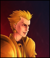 Commission - Gilgamesh by maryallen138