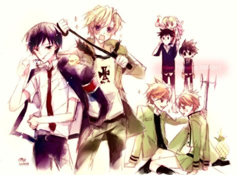 Katekyo Host Club OURAN by mixed-blessing