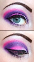 Purple dream eyeshadow by Creativemakeup