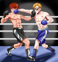 Nice to Beat You: Spencer vs Daniel by Solfei by brifight