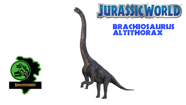 Jurassic World Brachiosaurus Remake by GorgonGorgosaurus