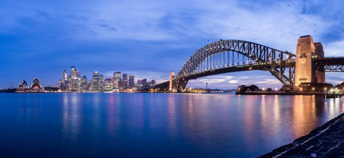 Sydney's Blue Hour by MarkKenworthy