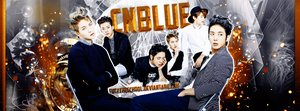 CNBLUE COVER by Fuckthesch00l