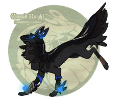 Cursed Knight - Feather Purchase by GentleLark