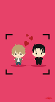 You're my Loveprize in Viewfinder Minimalist by Lennachan