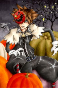 Halloween Town Sora by Maxx-V