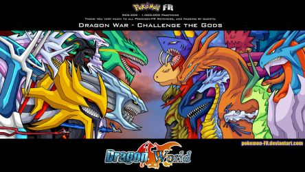 1,000,000 Pageviews - Challenge the Gods by Pokemon-FR