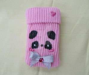 Sho Panda Mobile Phone Case by Raindroppu