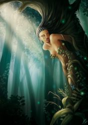 The forest by Irina-Hirondelle