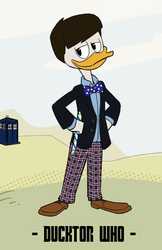 Ducktor Who - 2nd Ducktor by JStCPatrick