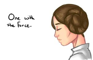 One with the force by lonelion4ever