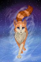 Sunstar visiting StarClan .::COM::. by xDreamchaserx