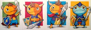 The Miteys! from Ni No Kuni by eric3dee