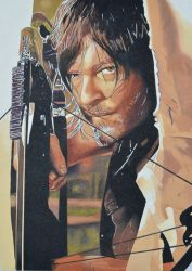 Daryl Dixon - The Walking Dead by EclepticGears