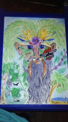 Greenman of the Tropics by Whitewolfsage