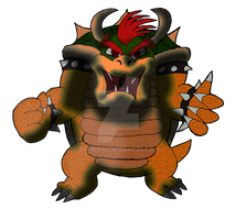 Bowser Kingdom Hearts Jurassic Revolution by DrPingas