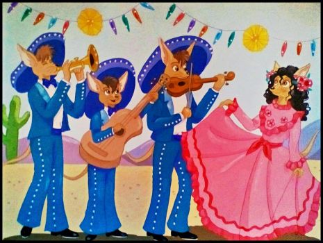 Marvelous Mariachis by FlapperFoxy