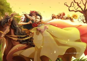 Rickyl: Snow White by honeyf