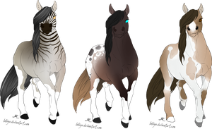 [A] Horse set 2 [0/3 Closed] by SushiTank