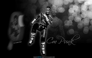 Cm Punk Wallpaper by KINGGFX1