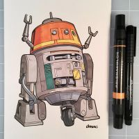 March of Robots Day 26: Chopper by D-MAC