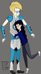 Wheatley and me android by RoseandherThorns