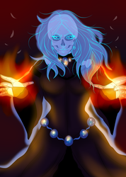 Commission: Lich by Musing-Zero