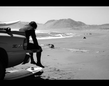 The surfer by PeLuZa