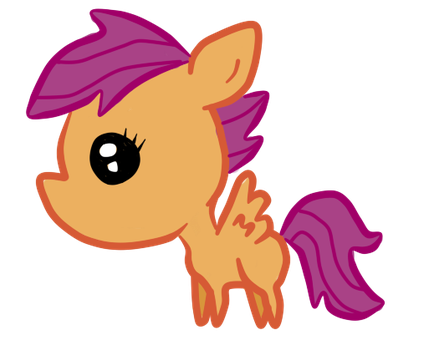 Scootaloo by cherrystarluv