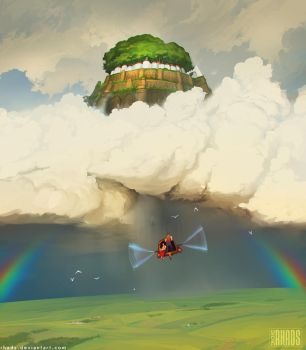 Castle in the sky by RHADS