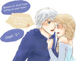 Jack Frost Bitten at your nose, Eh? by CCKonna
