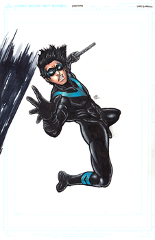 Nightwing Colors by Pixelated-Takkun