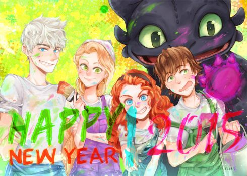 HNY 2015 by Zeiruin