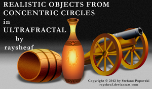 Realistic objects in UltraFractal by raysheaf