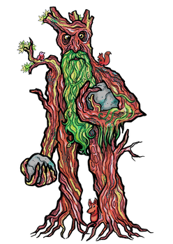 Treebeard by janimutikainen