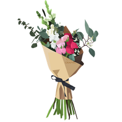 [Resources] Bouquets Flower Vector PNG by C12DG