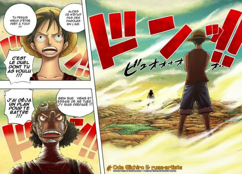 One Piece Chap 332 Page 9-10 by russ-artiste