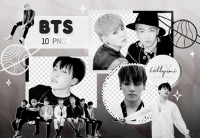 PNG PACK: BTS #42 (HYYH pt.1) by Hallyumi