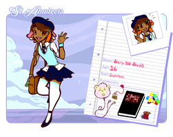 St. Abadeer Student App: Sherry Belle Sherbis by AbbyDreamz