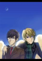Ouran: Winter in Kyoto by dragonlights